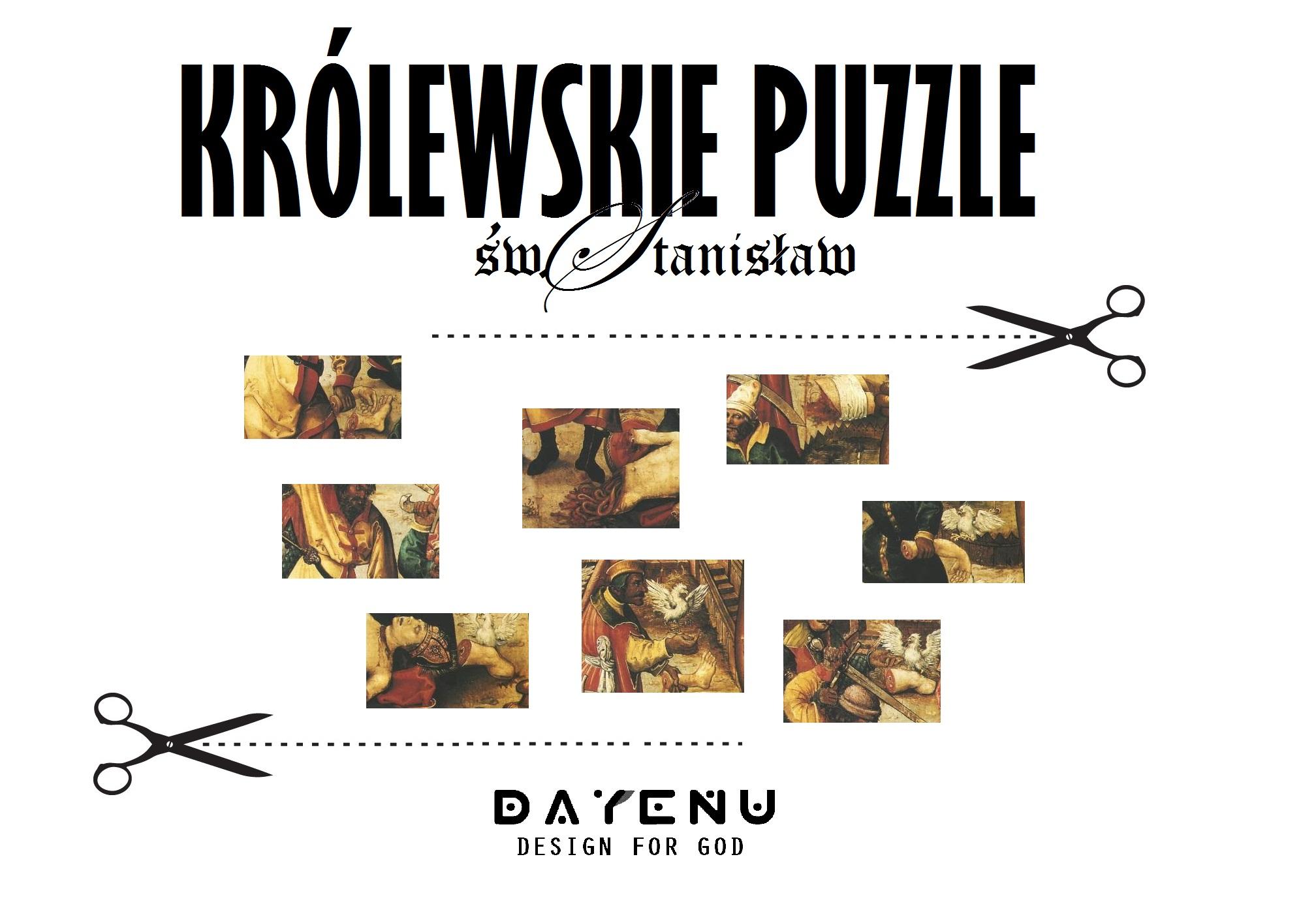 Królewskie puzzle ze świętym Stanisławem ze Szczepanowa