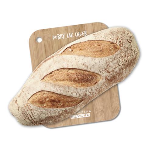 Bądź dobry jak chleb, nawet wtedy, gdy kroisz chleb! Deska do krojenia to część unikalnej kolekcji DAYENU stworzonej w pracowni Brata Alberta w Krakowie!
