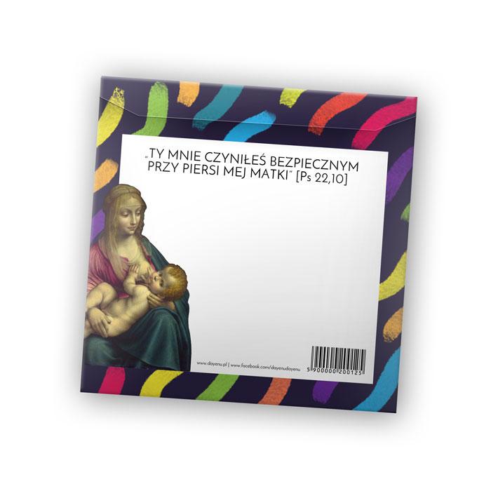 Nie zawsze można pojechać na Chrzest Święty, ale zawsze można podesłać prezent. Dlatego proponujemy 2 w 1: kartka pocztowa ze śliniaczkiem DAYENU!