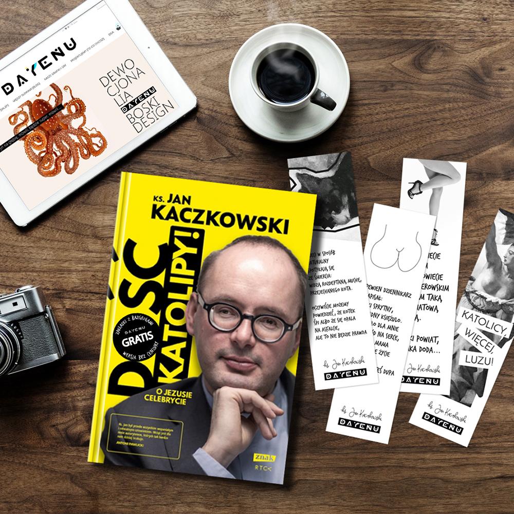 Oprawa graficzna książki dla ks. Jana Kaczkowskiego