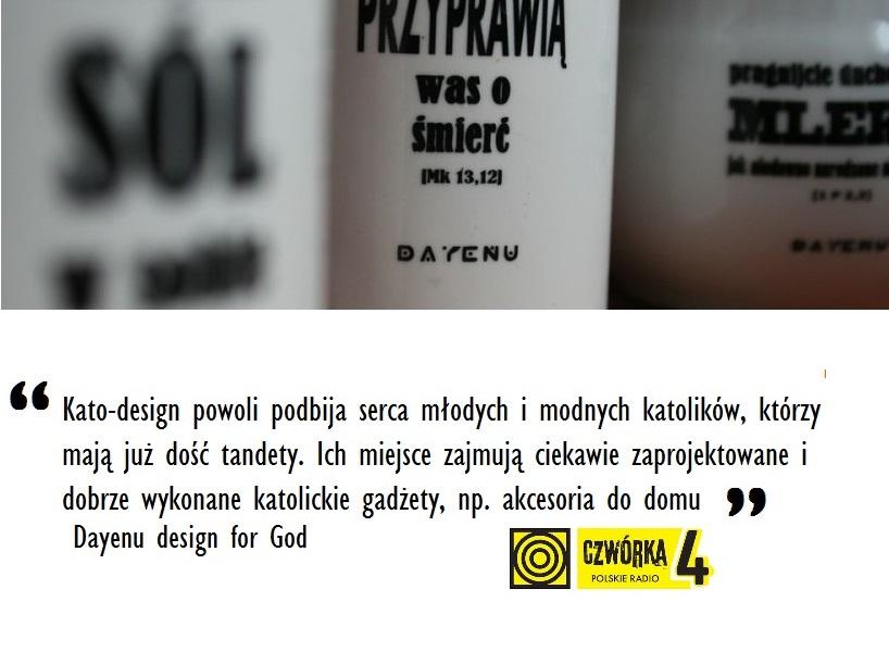 """Kato-design i DAYENU w Radio """"Czwórka"""""""