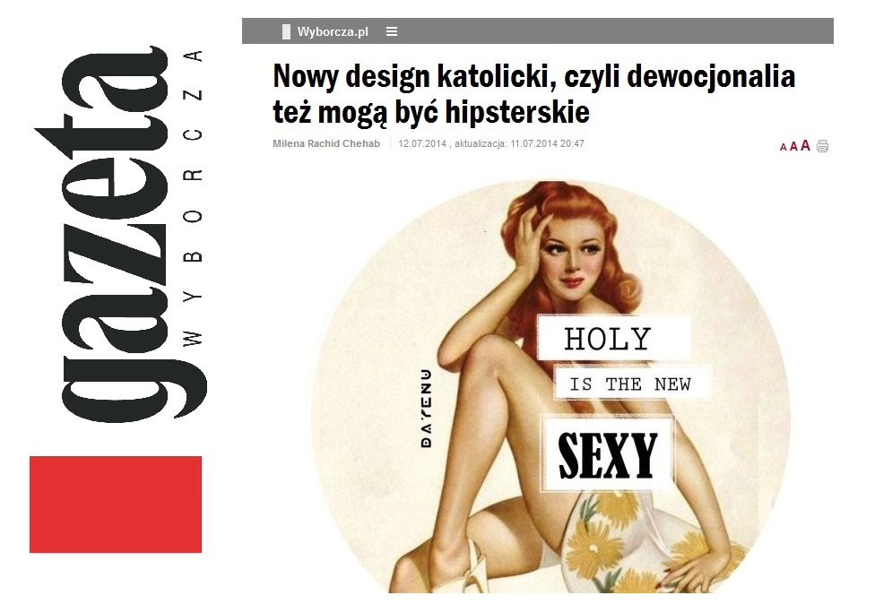 Media o nas – chrześcijański design w natarciu!