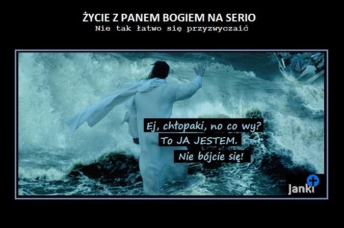 Dlaczego Jezus chodził po wodzie?
