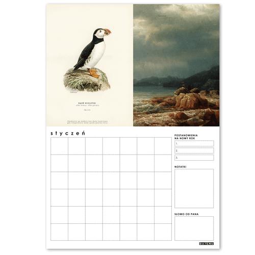 Kalendarz DAYENU DESIGN ANIMA MEA