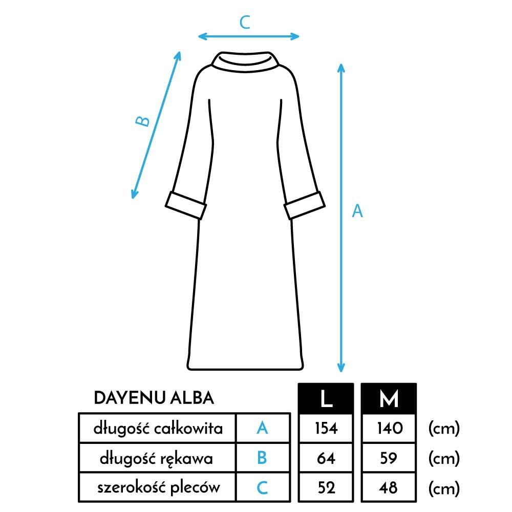 Oto standardowe rozmiary alby lektorskiej M oraz L. Projekt alby DAYENU DESIGN