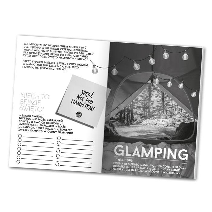 Lususowy camping, czyli GLAMPING! To jedno z zadań w najnowszej książce Nomad DAYENU DESIGN!