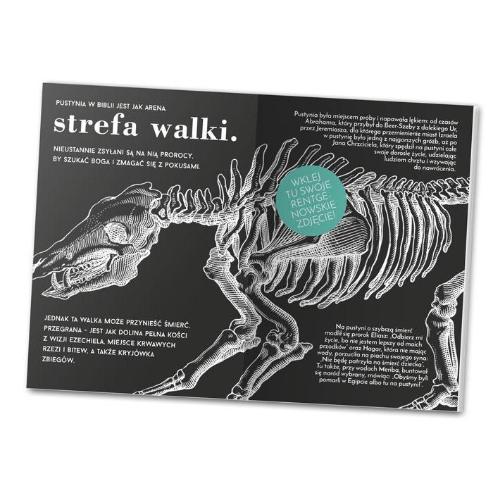 Wklej swoje zdjęcie rentgenowskie - to jedno zadań, które przedstawia NoMad nowa książka DAYENU! Czy masz już taką fotkę w swojej kolekcji?
