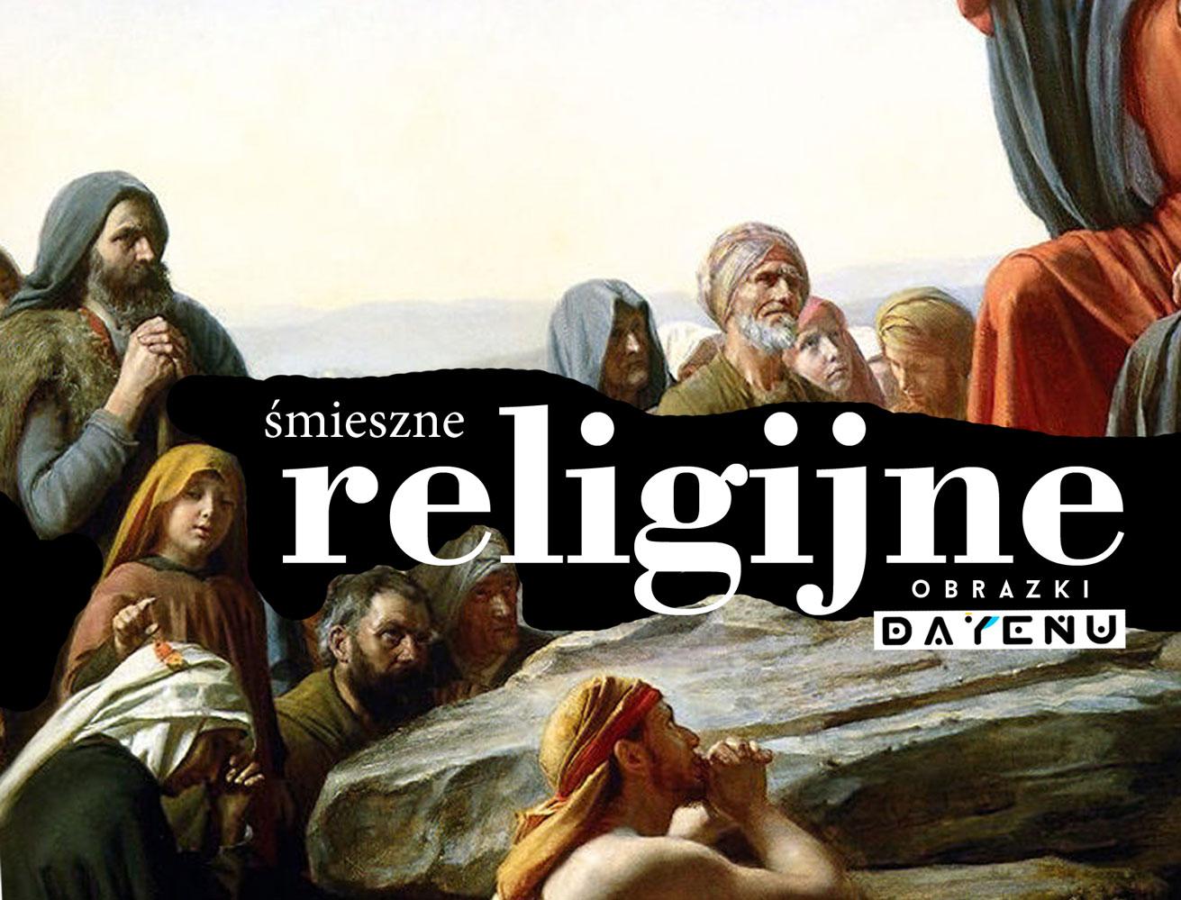 Śmieszne religijne obrazki